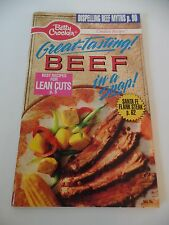 1991 Betty Crocker's Great-Tasting Beef in a Snap Recipes
