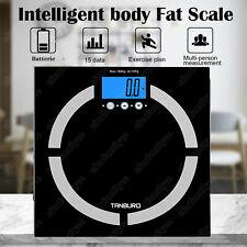 7 IN 1 Körperwaage Personenwage Fitnesswaage Gewicht Waage BMI Analyse 180kg