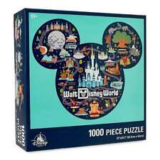Walt Disney World Map Icon Mickey Mouse 1000-piece Jigsaw Puzzle Ship