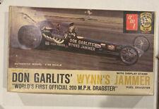 1960's AMT Don Garlits WYNN'S JAMMER 1:25 Model Kit 2167-150 w/box READ