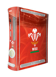 Wales Rugby Union Xbox 360 Original Console Skin Sticker Official Welsh WRU New