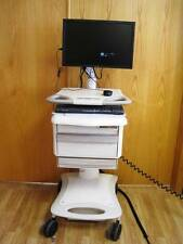 "Lionville Hospital Mobile Medical CPU Cart Pill Charger 19"" Monitor Adjustable"