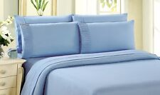 Bamboo Living Solid Duvet Cover Set ( 9 Colors, All Sizes Available)