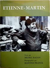 Michel Ragon (testi di), Étienne-Martin, Ed. La Connaissance, 1970