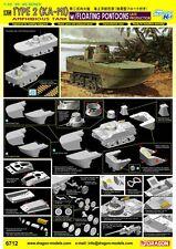 1/35 Dragon IJN Type 2 (Ka-Mi) Amphibious Tank w/Floating Pontoons Late Pr #6712