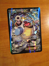 EX FULL ART Pokemon BLASTOISE Card BLACK STAR PROMO Set XY122 20th Anniversary