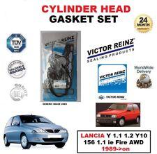 VICTOR REINZ HEAD GASKET SET for LANCIA Y 1.1 1.2 Y10 156 1.1 ie Fire AWD 1989->
