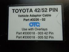 OTC/Toyota 3226-02 42/52 Pin Vehicle Adapter Cable.