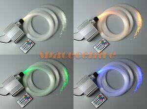 RGBW twinkle star fiber optic light kit home optical fiber light ceiling light