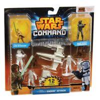 STAR WARS REBELS COMMAND 12 FIGURES & VEHICLES ENDOR ATTACK BATTLE PACK