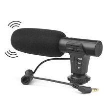 New DSLR Camera Stereo Microphone Digital Video Mic 3.5mm for Nikon Canon Vlog