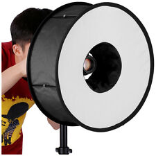 Neewer Round Universal Collapsible Magnetic Ring Flash Diffuser Soft Box 18""