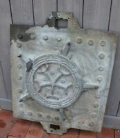 Weathervane Mold Ship Wheel Compass Antique for Copper Relief Vintage Cast Metal