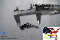 "1/6 Colt Cowboy METAL Revolver Weapon pistol agent for hot toys 12"" figure ❶USA❶"