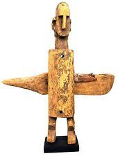Art Africain Arts Premiers - Ancienne Serrure Dogon sur Socle - 49,5 Cms +++++++