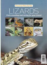 LIZARDS - UNDERSTANDING AND CARING FOR YOUR PET, NEW PAPERBACK BOOK