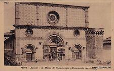 # AQUILA : S. MARIA DI COLLEMAGGIO - n. 16016 ediz. Diena  - 1930