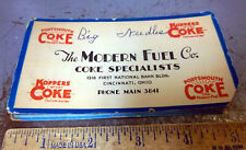 Vintage Modern Fuel Coke Specialists Sewing Needle Book, Cincinnati Ohio, Kopper
