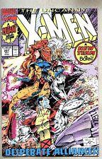 Uncanny X-Men #281-1991 nm- Whilce Portacio White Logo