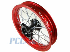 "12"" FRONT RED RIM WHEEL SDG COOLSTER 107 110 125cc PIT DIRT BIKE BIKE V RM06R"