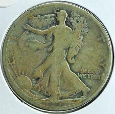 1916 Walking Liberty Half Dollar Free Shipping WLHA27