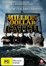 D4 BRAND NEW SEALED Million Dollar Catch (DVD) New Zealand Crayfish AUS Stock