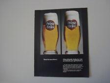 advertising Pubblicità 1966 BIRRA BEER PRINZ BRAU