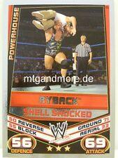 Slam Attax Rebellion - #027 Ryback - Shell Shocked - Signature Move