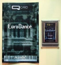 Alesis EuroDance QCard with Booklet, Case, LIFETIME Warranty! QS QSR Card