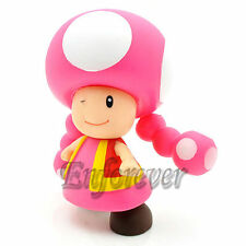 "Mario Bros 4"" TOADETTE Poseable Action Figure Toy^MS228"