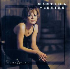 MARTINA McBRIDE : EVOLUTION / CD - TOP-ZUSTAND