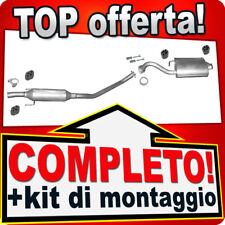 Scarico Completo TOYOTA COROLLA (E12) 1.4 1.6 2-Volumi 02-04 +VERSO Marmitta K47