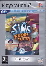Ps2 PlayStation 2 **THE SIMS FUORI TUTTI** nuovo originale Italiano Sigillato