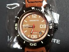 """Magrette """"Moana Pacific Professional"""" automatic dive watch - box & extra strap"""