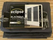 Braxton Thermaback Blackout Curtain Panel - Eclipse™ Gray