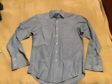 "Men's Ralph Lauren Polo Double Cuff Shirt Durham Size 16"" Neck. 25"" Pit to Pit."