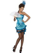 Lady Elegance Burlesque Fancy Dress Costume Women's Medium Smiffys 33436 Fever