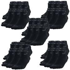 30 Paar NIKE Dri-FIT NoShow Sneaker Socken schwarz 34-38 (S) 30er Pack Low Cut