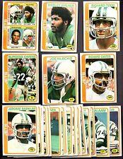 1978 Topps Football NEW YORK JETS Complete Team Set