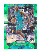 2019/20 Prizm BISMACK BIYOMBO Green Cracked Ice Fanatics <100 Mint SP Hornets