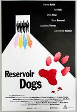 Reservoir Dogs original 1 sheet poster 1992 Cannes Film Festival excellent cond.