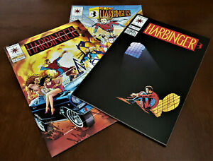 1992 HARBINGER lot of 3 *KEY* issue included