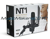 Rode NT1 Quiet Condenser Microphone Kit, NT-1 Mic and SMR Shock Mount