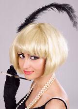 Ladies Blonde 1920s Super Model Bobbed Wig