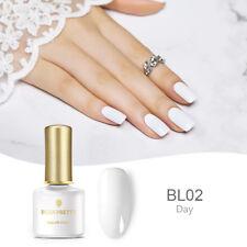 6ml BORN PRETTY White UV Gel Nail Polish Soak Off Mnaicure Gel Varnish Decor DIY