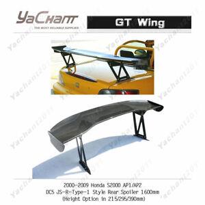 Carbon 1600mm Spoiler For 00-09 Honda S2000 AP1 AP2 DC5 JSR Type1 GT Wing