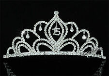 Sweet 15 Sparkling Crystal Quinceanera Tiara AT1529