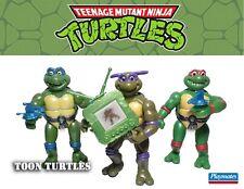 TMNT 1992 Toon Turtles set of 3 Donatello Leonardo Raphael Vintage Playmates