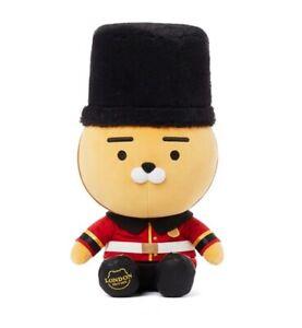 Kakao Friends London Edition Soft Toy Royal Guard Ryan Plush Doll Limited 39cm