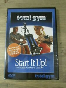 Total Gym DVD Start It Up! Your Personal Training Guide - Set-Up & Work-Along
